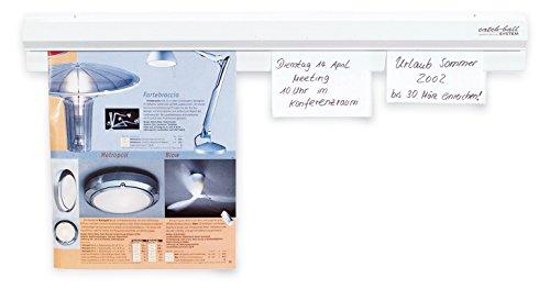 Klemmleiste Bonschiene Catch-Ball-System 60 cm Kunststoff weiß