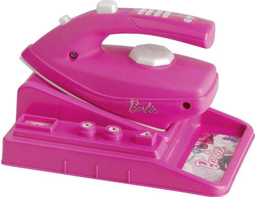 Faro - 2603 - Jeu D'imitation - Nettoyage Et Ménage - Fer A Repasser Barbie Pour Enfant - 21,5 X 14,5 X 15 Cm