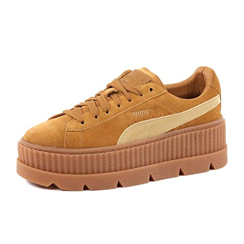 Puma x Fenty Cleated Creeper Suede Golden Brow by Rihanna - 40.5