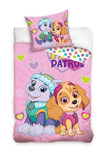 Viacom International Babybettwäsche Paw Patrol 100x135+40x60 Baumwolle
