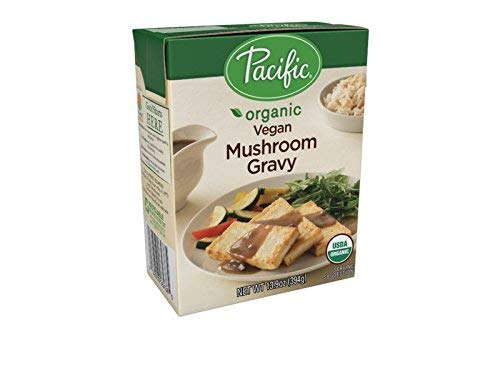 Pacific Foods Organic Vegan Mushroom Gravy, 13.9 Ounce (Pack of 12)