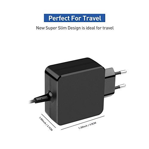KFD Stecker Netzteil 9V 2A Ladekabel Ladegerät für TrekStor Volkstablet SurfTab Wintron 10.1 2,5mm Android Tablet Charger VT10416-1, Archos Arnova Tablet, Tomtec 7