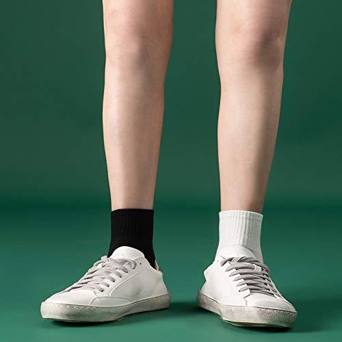 T 白色. 女. 浅. 春 夏季 薄 款 中 筒 夏天 纯棉 全棉。