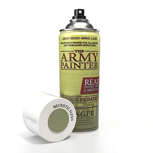 The Army Painter – Colour Primer - Necrotic Flesh   400ml   Acryl-Spray   Grundierung   für Modellmalerei
