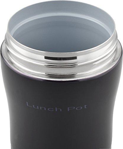 和平フレイズ 弁当箱 ハンディランチポット スープ リゾット 果物 フォルテック・ランチ 300ml ダークパープル セラミックコート 真空断熱構造 保温 保冷 FLR-6860