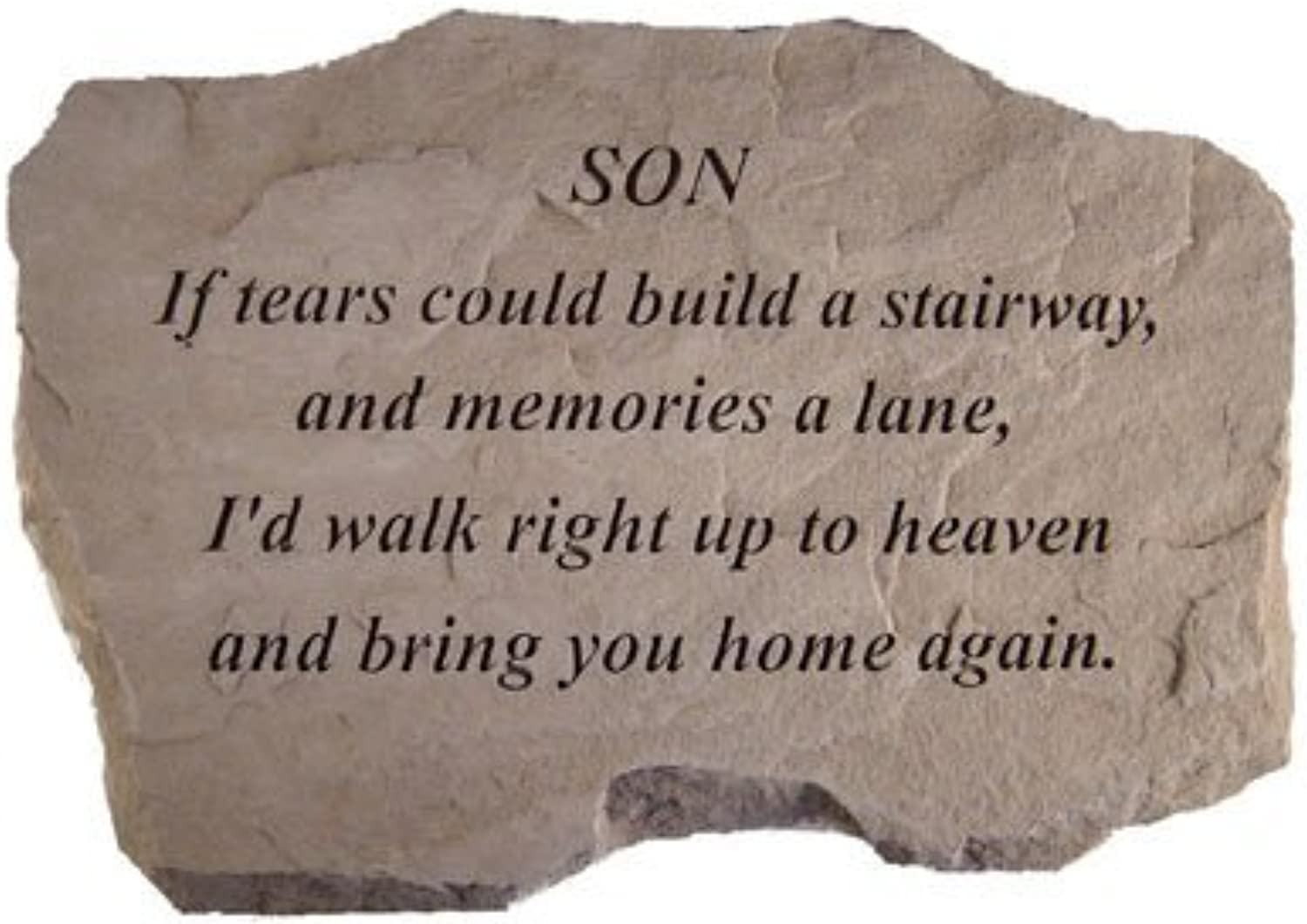 KayBerry Cast Stone Family Memorial SONIf tears could build 99720