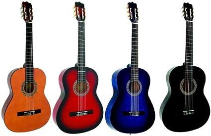 Guitare Classique 4 4 Adulte 4 Coloris Au Choix Neuve Garantie Bleue Amazon Fr Instruments De Musique