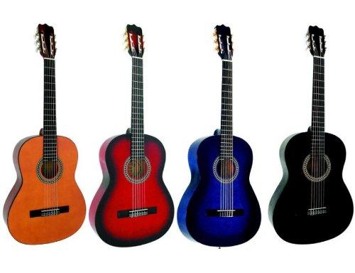 GUITARE Classique 4/4 (Adulte) 4 coloris au choix ~ Neuve & Garantie (bleue)