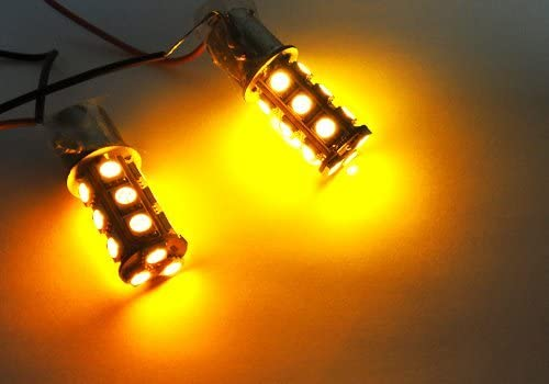 LEDIN Challenge the lowest price 2x Amber High Power 18 SMD Rear Sale special price LED Light Bulb Side Marker
