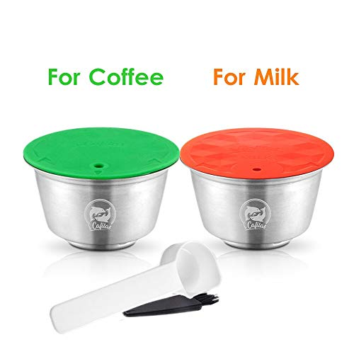 Best Quality - Coffee Filters - new milk foam filters for dolce gusto refillable coffee capsules pod stainless steel reusable coffee filters - by Stephanie - 1 PCs