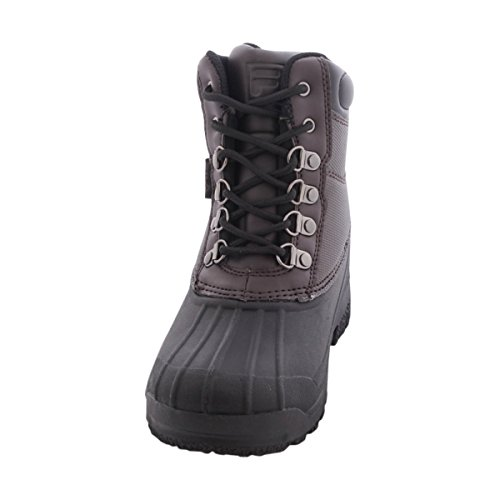 Fila Kid's Weathertech Extreme Hiking Boots, Brown Leather, 1.5 Little Kid M
