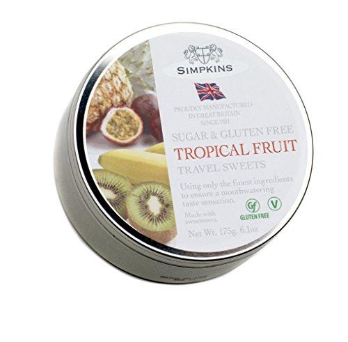 Simpkins Tropical Fruit Drops zuckerfrei, 175 ml