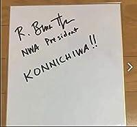 ブルースサープ 直筆サイン色紙