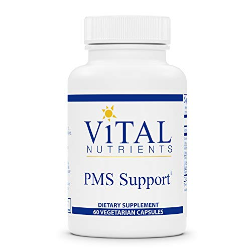 Vital Nutrients - PMS Support - Pre-Menstrual Symptom Support - 60 Vegetarian Capsules per Bottle
