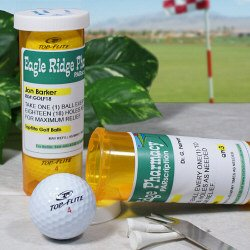Personalized PARscription Golf Ball Set