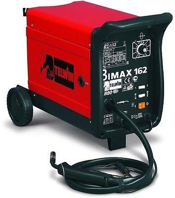 SALDATRICE FILO CONTINUO BIMAX 162 GAS/NO GAS - TURBO 230V TELWIN cod. 821012