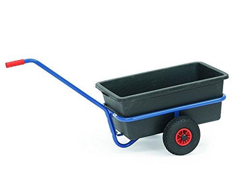 fetra 4101 Handwagen mit Wanne, Ladefläche: (B)700 x (T)400 mm
