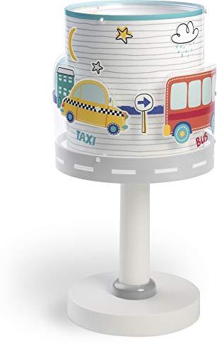 Dalber Kinder Tischlampe Nachttischlampe Baby Travel Autos und Flugzeuge