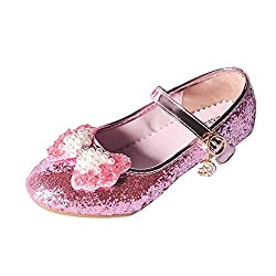 A-Pink Mary Jane Low Heels Shoes