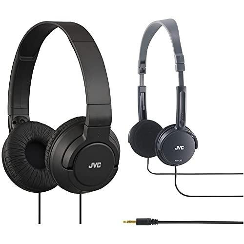 JVC Auriculares Plegables Ha-S180-B Color Negro + Hal-50-B Auriculares...