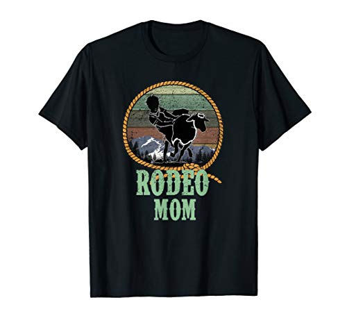 Western Rodeo Proud Mom Mama Son Daughter Faith Family Gift T-Shirt
