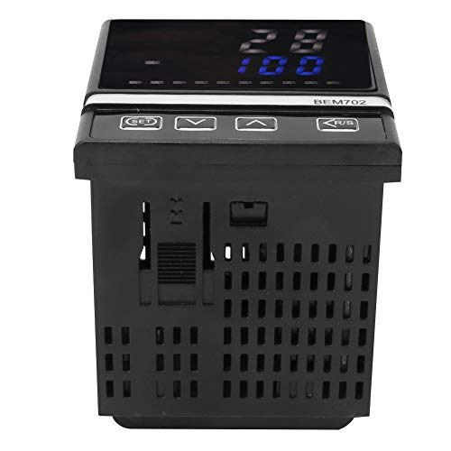 Controlador de temperatura, Relé de temperatura digital digital/SSR de plástico 72 x 72mm