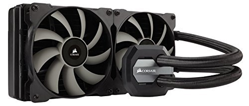 Corsair CW-9060020-WW Hydro Series Wasserkühlung (H110i GTX 280 mm, Extreme Performance All-In-One CPU) schwarz