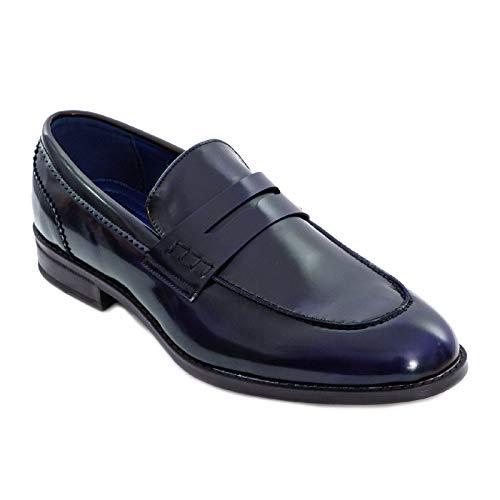 Toocool - Mocassini Uomo Oxford Polacchine Scarpe Uomo Eleganti College Y79 [43,Blu]