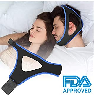 Anti Snoring Chin Strap - Stop Snoring Chin Strap Snoring Solution Anti Snoring Devices Stop Snoring Sleep Aid for Men and Women