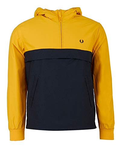 Fred Perry - Chaqueta - para hombre Yellow & Navy M