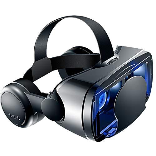 WWDKF Virtual Reality Vr Brille 3D, 3D-Brille Für Ios- / Android-Telefone Mit 5 Bis 7 Zoll Bildschirm, 3D-Kino-VR-Brille Für All-In-One-Telefone Für Spiele Und Filme