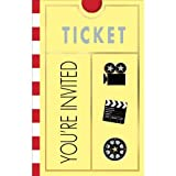 Movie Ticket Invitations, 8ct
