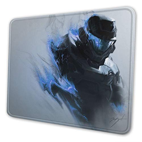 Halo Spartan 11.8-inch by 9.85-inch Computer Mouse Pad with Neoprene Backing and Jersey Surface