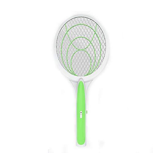 YAHE Raquette Electrique,Raquette Anti Moustique Electrique,tapette à moustiques électrique 5 Type de Batterie sèche Tueur de moustiques ménager tapette à moustiques électrique à Trois Couches