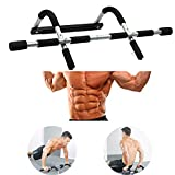 Native HK Multi-Gym Doorway Pull Up Bar and Portable Gym System, Pull Up and Chin Up Bar Upper Body Workout Bar for Home Gym Exercise Fitness