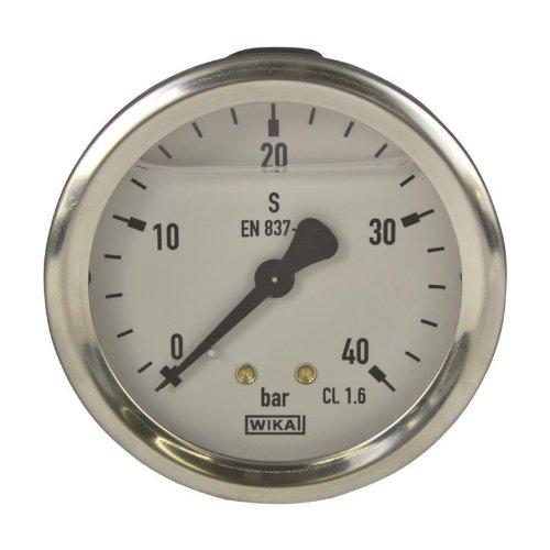 Manometer, NG 63, 0-40 bar - WIKA 213.53 - 9022406