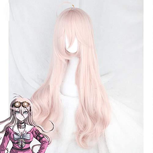 DanganRonpa Cosplay Wig Miu Iruma Costume Play Woman Adult Wigs Halloween Anime Hair free shipping + wig cap