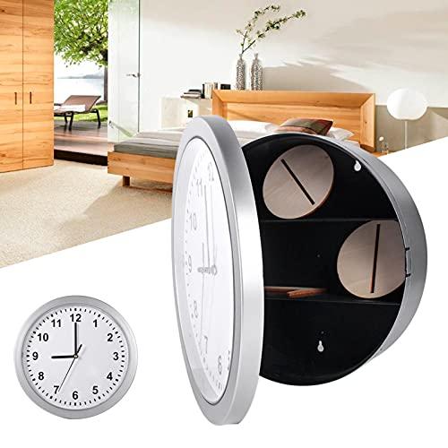 minifinker Caja Fuerte del Reloj Compartimiento de desvío Decoración Moderna Caja Fuerte Oculta del Reloj para la decoración del hogar y la Oficina