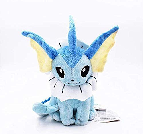 18cm Vaporeon Peluche Toy Eevee Doll Soft Classic knuffels