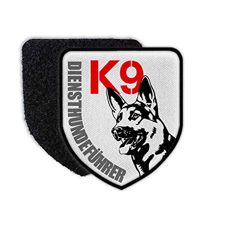 Copytec Patch K9 Diensthunde Führer Dienst Hund Polizei Wache Rettungs Einsatz #31919