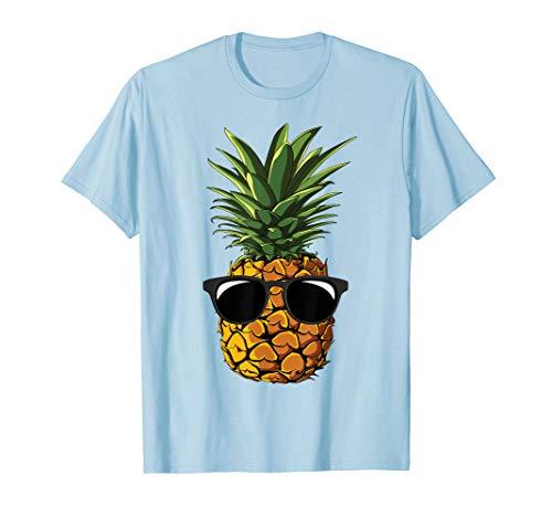 Ananas Sonnenbrille Aloha Strände Hawaii–Hawaiian T-Shirt
