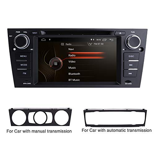 Android 10 Single Din Autoradio Radio Dvd-speler Ingebouwde DSP met 7 inch touchscreen + CANBUS Ondersteuning Mirror Link BT WIFI 4G SWC DAB + DVR Past voor BMW 3-E90 / E91 / E92 / E93 2006-2012