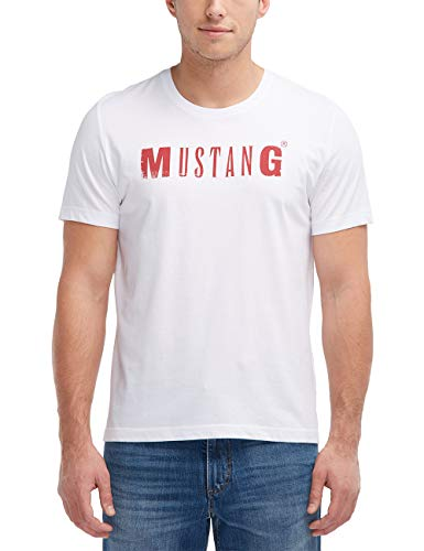 MUSTANG Herren Standard Fit Logoshirt