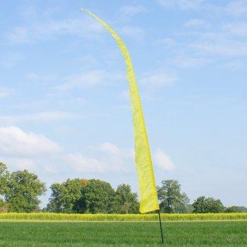 Fahnen - Bali Fahne yellow - UV-beständig und wetterfest - Abmessung: 500x55cm (Yellow)