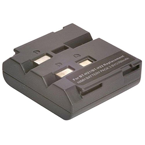 Amsahr Digital Replacement Camera and Camcorder Battery for Sharp BT-H21, BT-H22