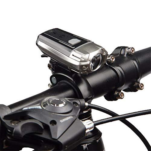 LY-YL333 USB-wiederaufladbares Fahrradlicht-Mountainbike-Licht, Superhelles Wasserdichtes Fahrradlicht, Wiederaufladbare, Einfach Zu Installierende USB-Scheinwerfer
