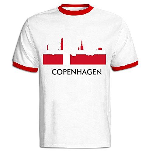 ENHEN Copenhagen Short Sleeve Tees T Shirts For Men