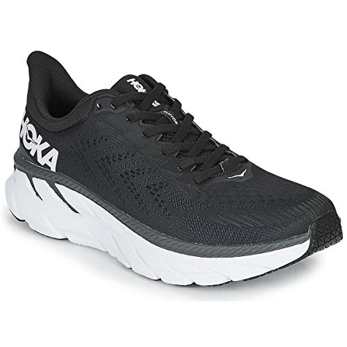 Hoka One One Men's Clifton 7 - Black/white - 12.5