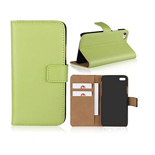 Smart Fitsport Cover iPhone -Custodie per iPhone X/XS 5/5S 5C 6/6s 6 Plus 7/8 7 Plus/8 Plus Portafoglio Custodia Pelle