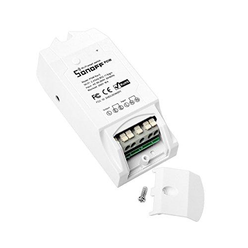 Sonoff POW R2 Interruptor de Control Remoto Inalámbrico Monitor de Alimentación Remoto wifi...